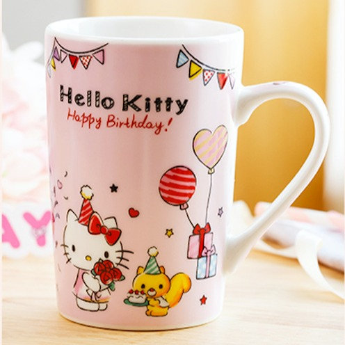 HELLO KITTY MUG - BIRTHDAY DESIGN
