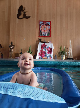Mama & Baby Swim!