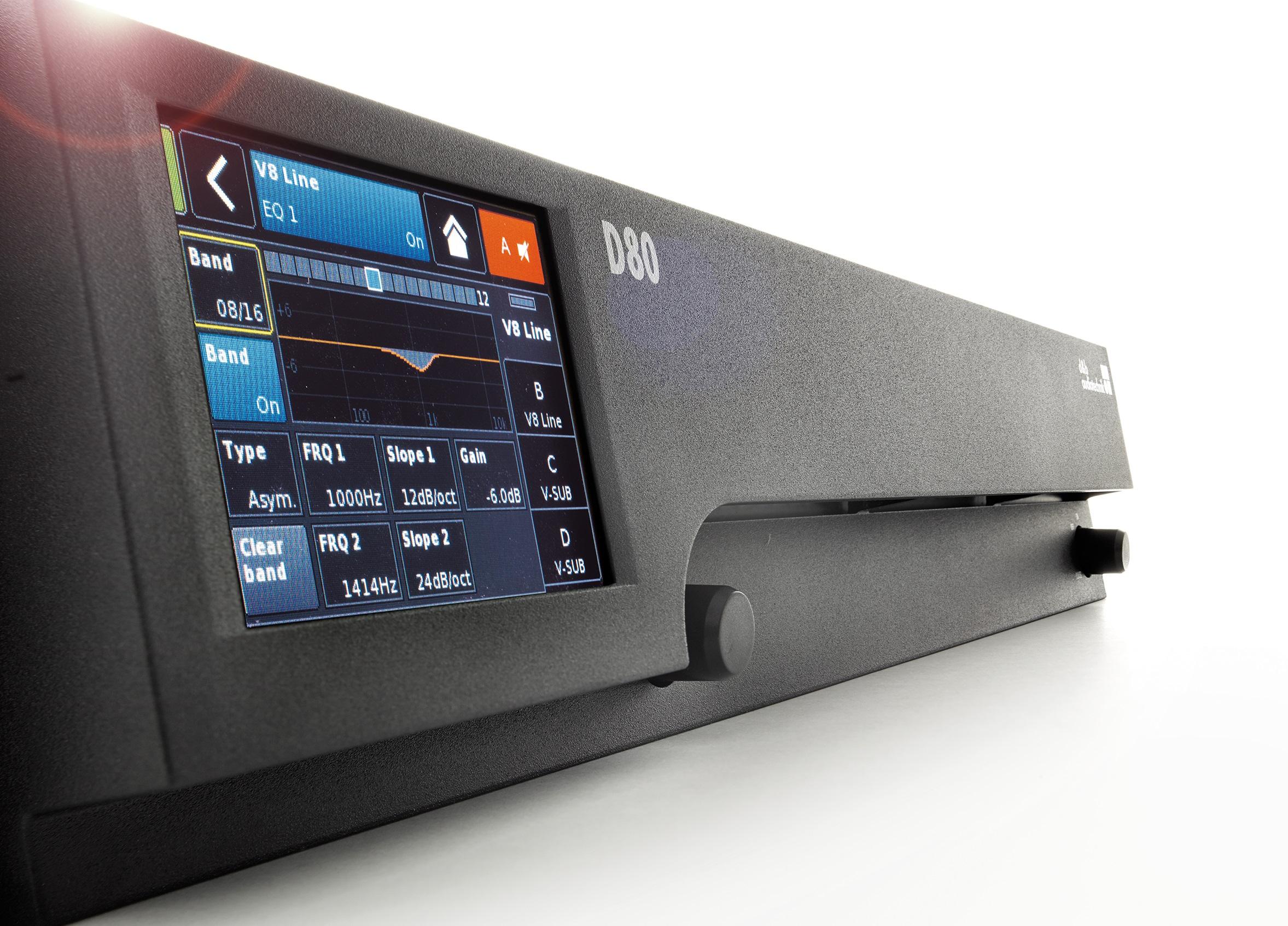 D80 Amplifier