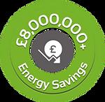 £8,000,000+ Energy Ssvings