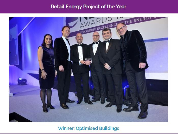 Retail Energy Project of the Year 2018