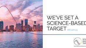 Science-based target: Set