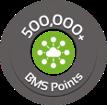 500,000 BMS Points