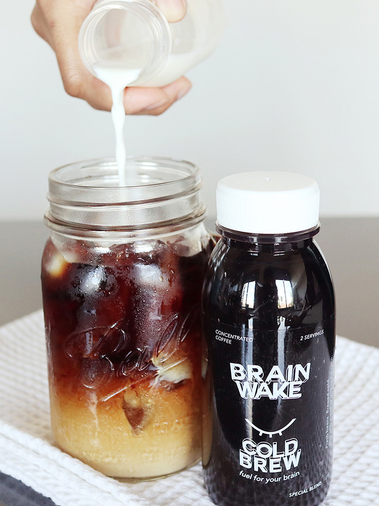 brainwake cold brew mix coffee concentrated
