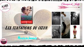 Les Tentations du coeur : Ennemis et Amants T.2 - Monica James