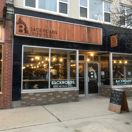 Thirsty Thursday: Backroads Brewing Co.