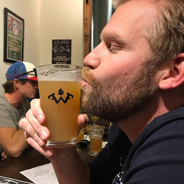 bc beer truck owner drinks beer in richmond
