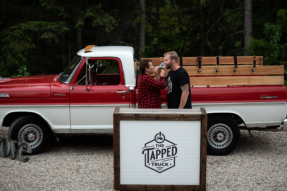 popup tap bar beer truck and mobile bartenders from the tapped truck