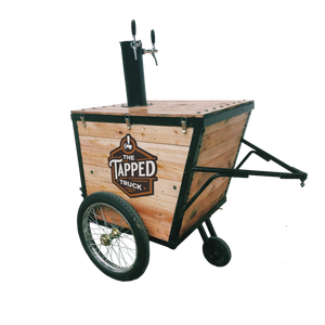 our tapped beer trolley, the Chuck Wagon, is perfect for interior and intimate events