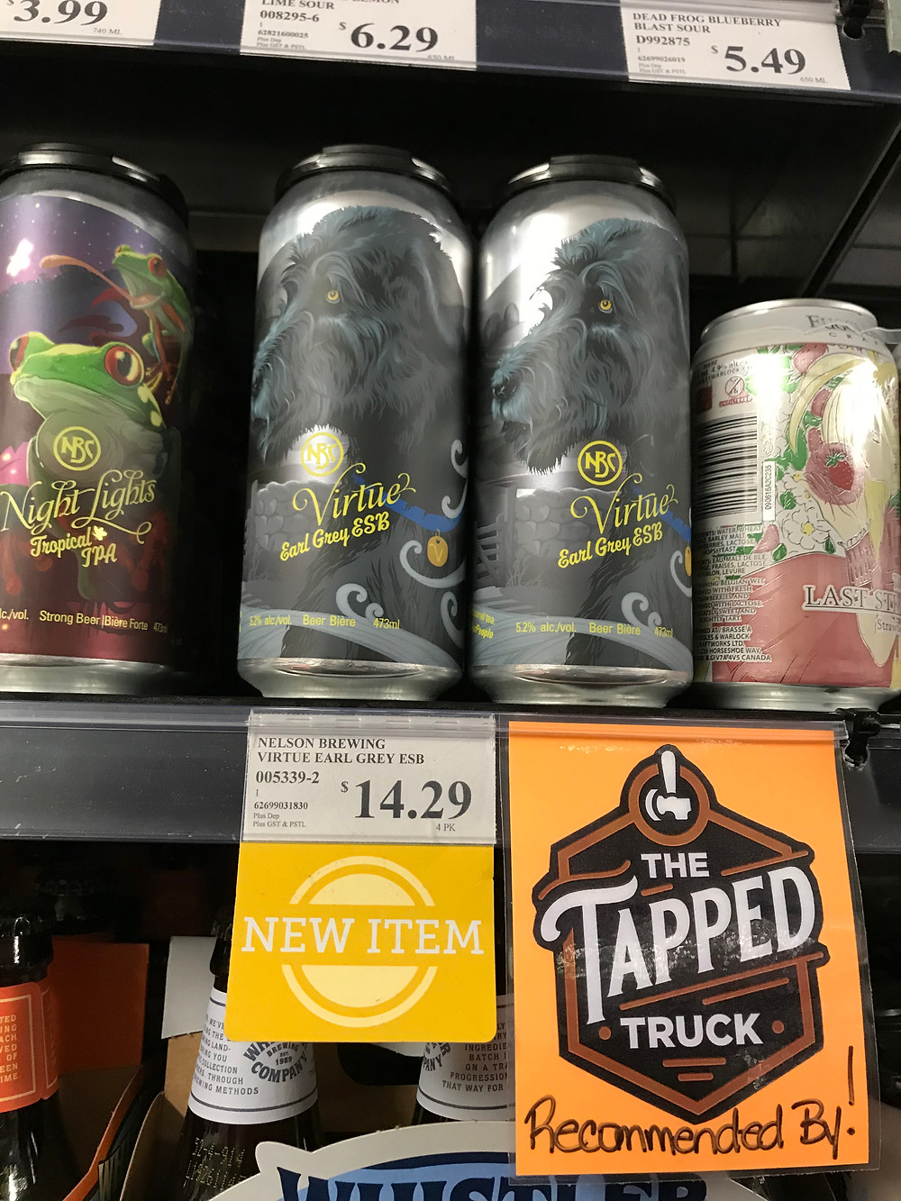 the tapped truck a mobile bartender recommends local nelson brewing craft beer