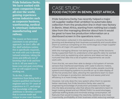 Pride Solutions Derby - Benin Case Study