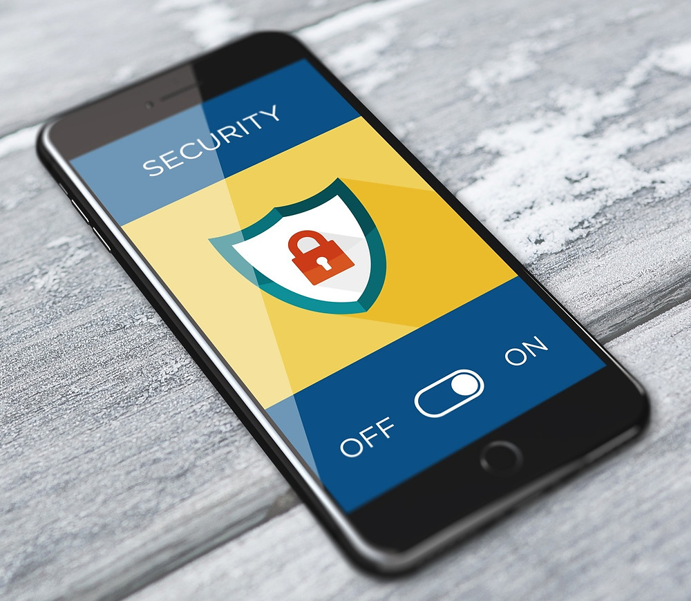 Mobile phone with Cyber Security Lock