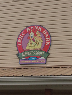 Bank Barn Sign