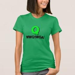 Qanon WWG1WGA Customizable T-shirt