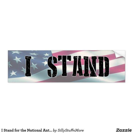 I Stand Bumper Sticker