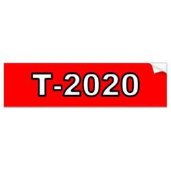 T-2020 Customizable Bumper Sticker