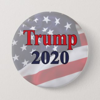 Trump 2020 Campaign Button