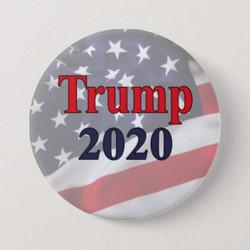 Trump 2020 Campaign Button