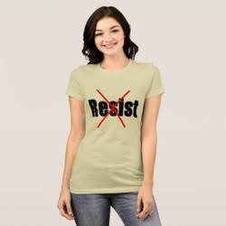 Put a Big X Through Resist Customizable T-shirt