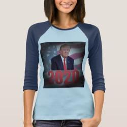 Trump in 2020 Custom  Long Sleeve T-shirt
