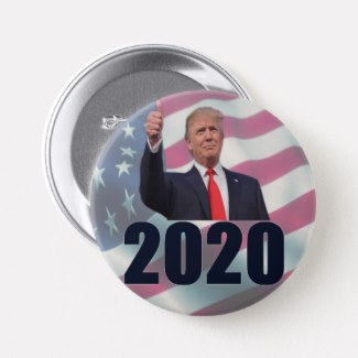 Trump in 2020 Custom  Buttons