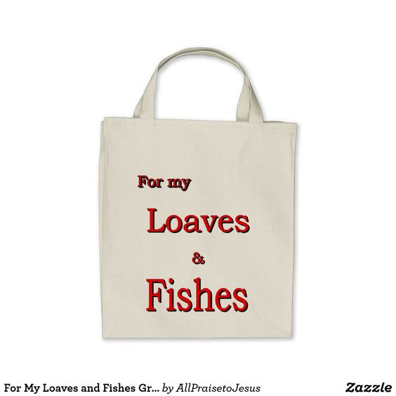 Loaves and Fishes Tote Bag