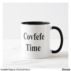 Covfefe TIm Coffee Cup