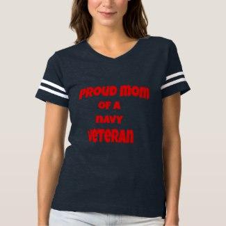 Proud Mom of a Navy Veteran Shirt