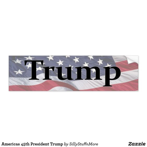 President Trump Bumper Sticker