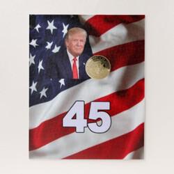 Americas 45th President Jigsaw Puzzle