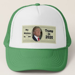 My Money is on Trump in 2020 Hat