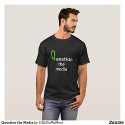 Question the Media T-shirt
