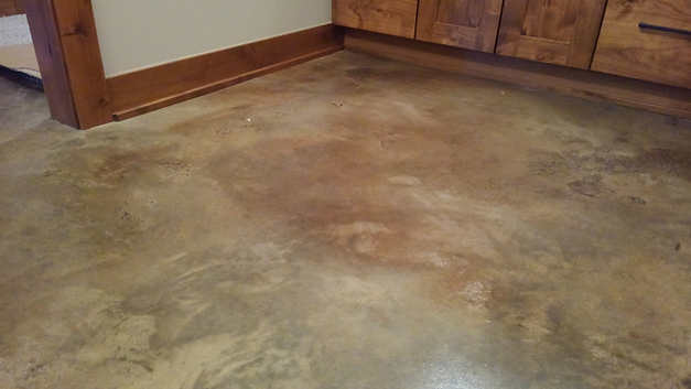 Walnut Acid stain
