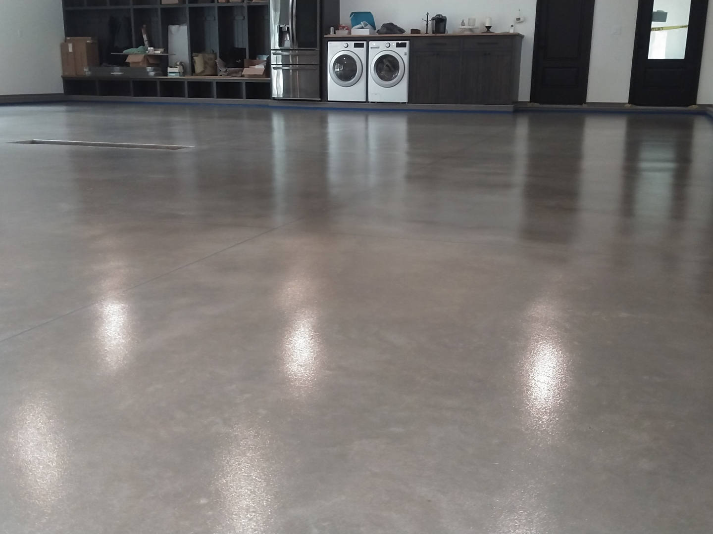 Heavy Duty Grind & Seal Garage floor