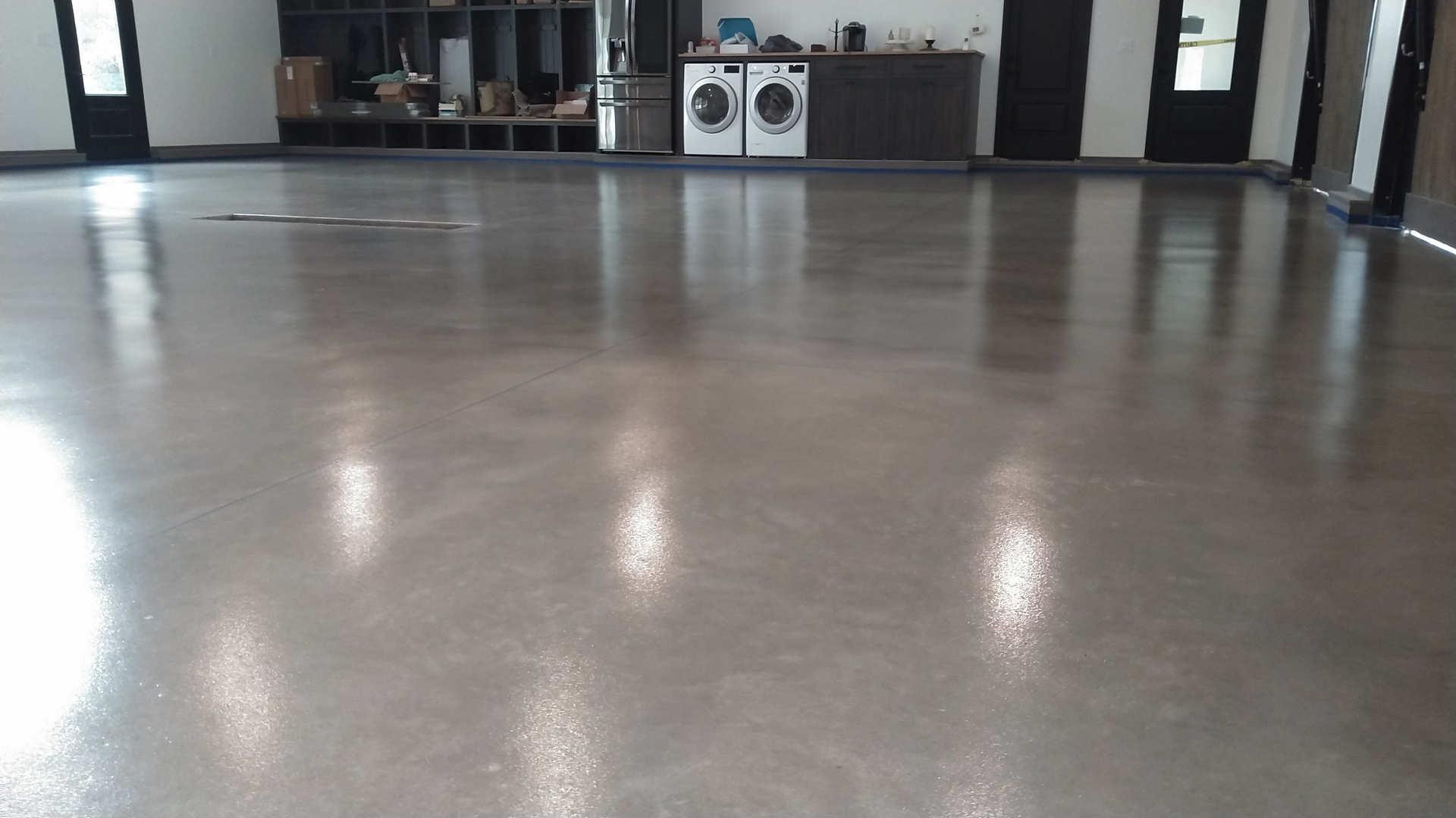 Heavy Duty Grind & Seal Garage floor