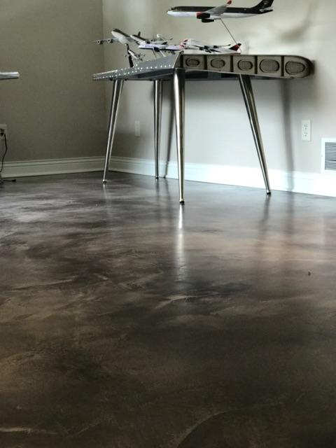 Gray Stained Overlay