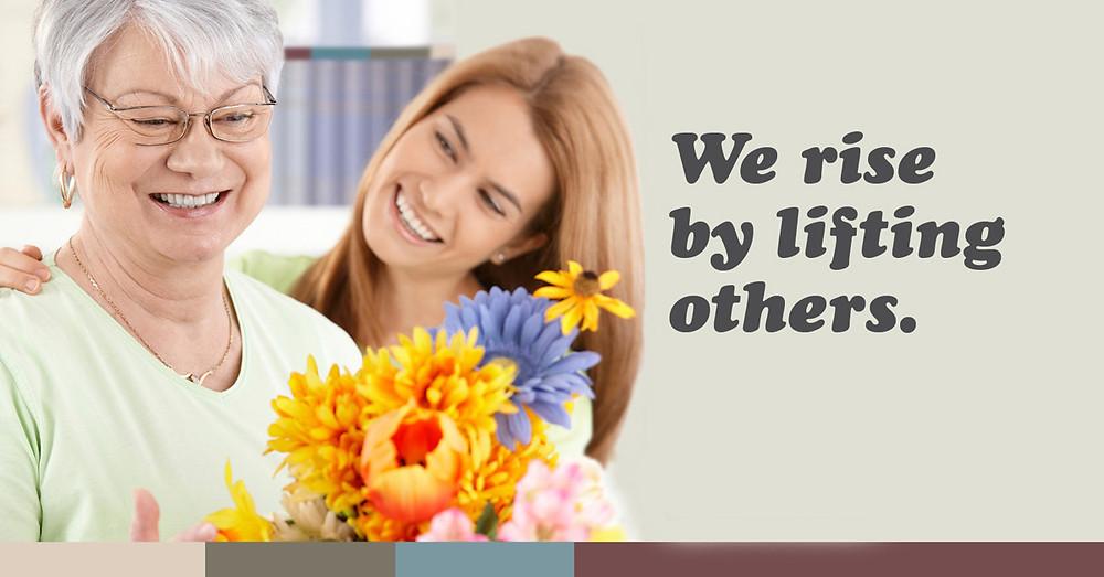 elder care, senior care, in-home care services, caregiver