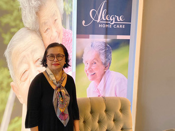 Armida C. Celebrates 23 Years with Alegre Home Care