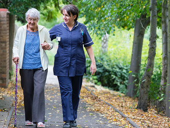 Creating a Therapeutic Relationship through In-Home Care