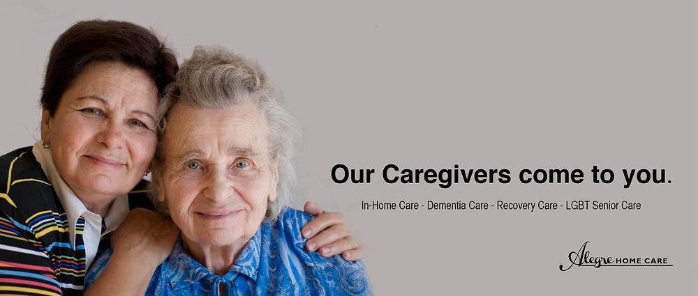 in-home caregiver, elder care