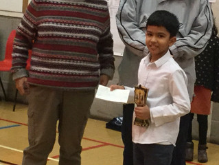 National South Of England Chess Championship-U11 Winner