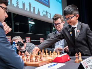 First Ceremonial Move in London Chess Classic