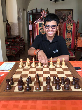Youngest England's Fide Master
