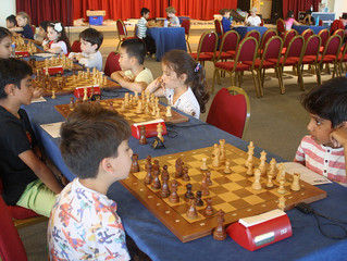 Winner of U8 category of the British Chess Championship, 2016