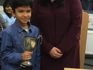 London Junior Chess Championships-U10 Winner