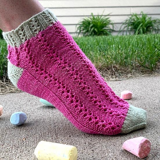 Sidewalk Squiggles Socks