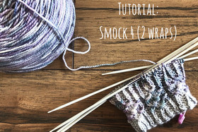 Tutorial: Smocking 4 Stitches with 2 Wraps!