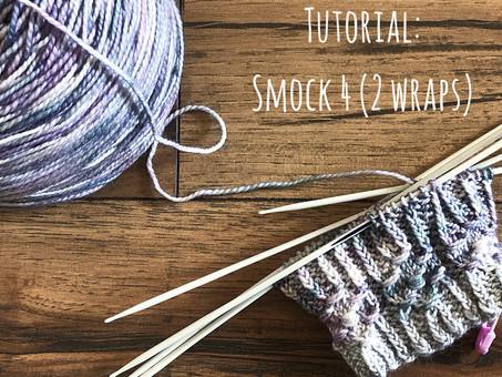 Tutorial: Smocking 4 Stitches with 2 Wraps!