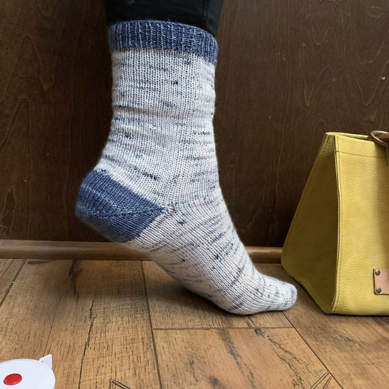 Basic Toe-Up Adult Socks