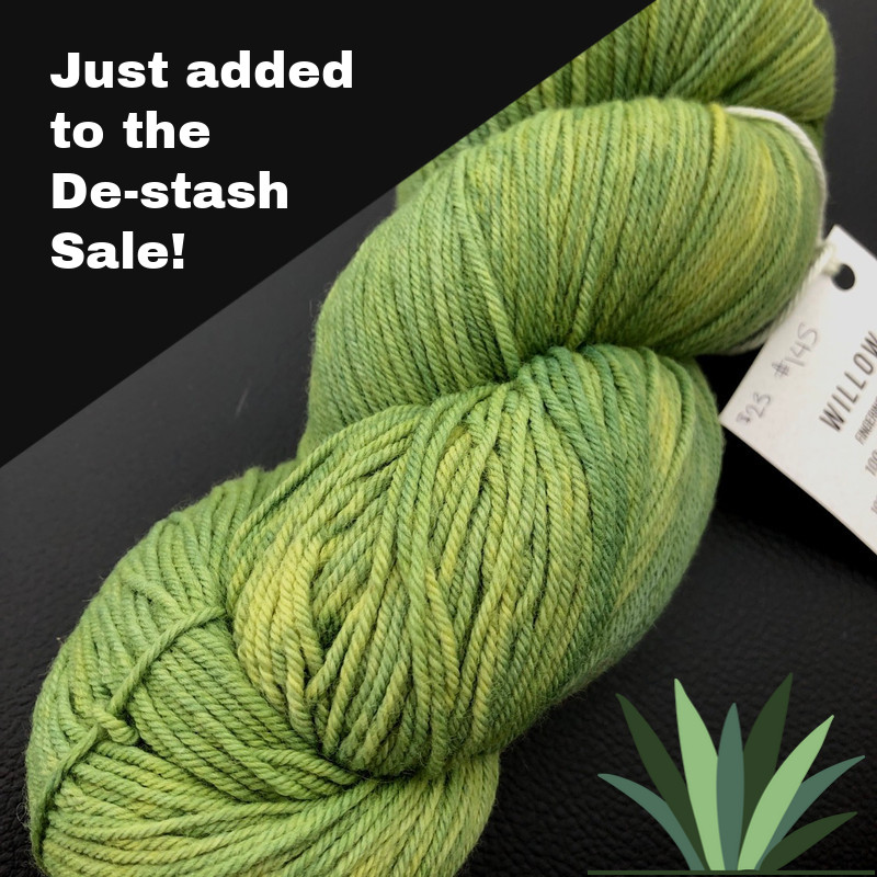 De-Stash Yarn Sale!